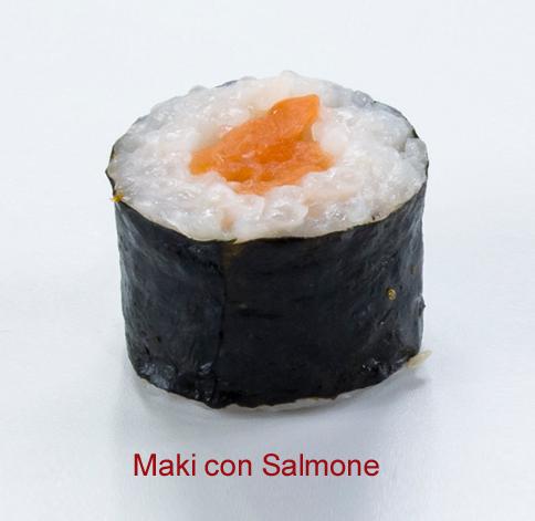 Maki con salmone - Sushi classic