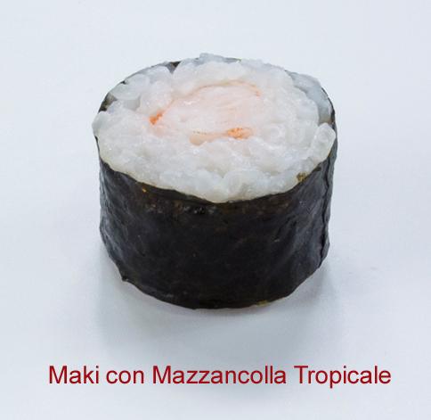 Maki con mazzancolla tropicale - Sushi classic