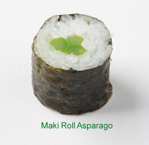 Maki Roll asparago - Sushi vegetariano