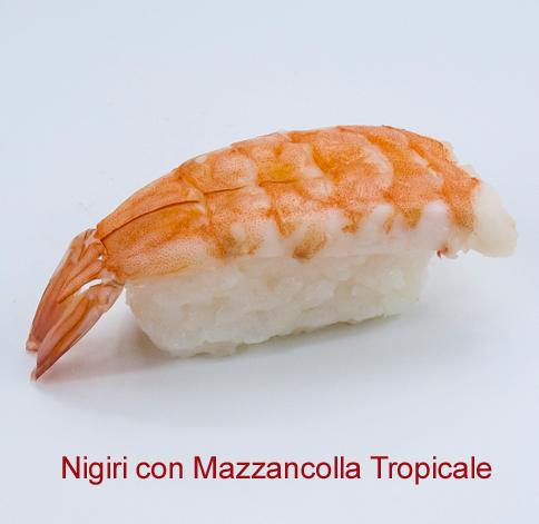 Nigiri con Mazzancolla Tropicale - Sushi classic