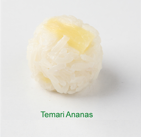 Temari Ananas - Sushi vegetariano