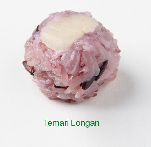 Temari Longan - Sushi vegetariano