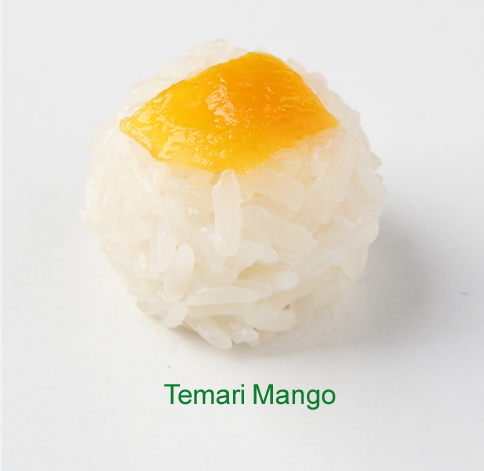 Temari Mango - Sushi vegetariano