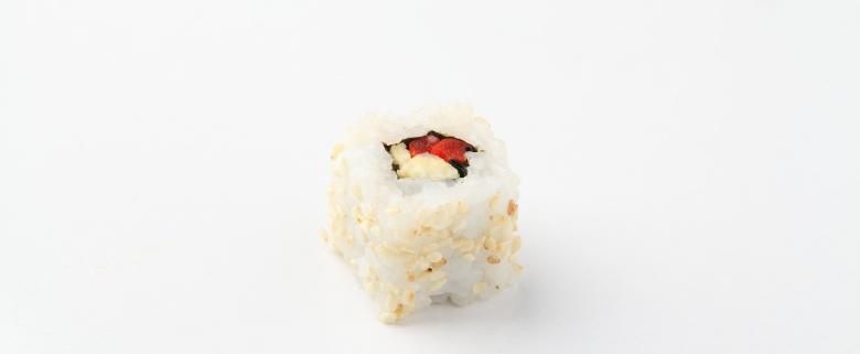 sushi roll vegetariano