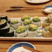 sushi cena
