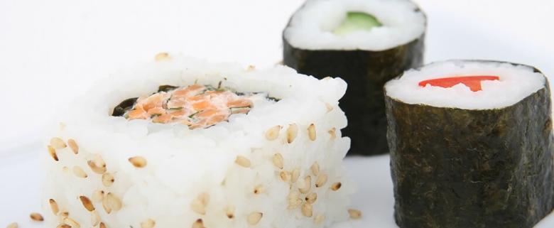 Sushi crudo